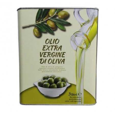 Італійська оливкова олія холодного віджиму, 3л