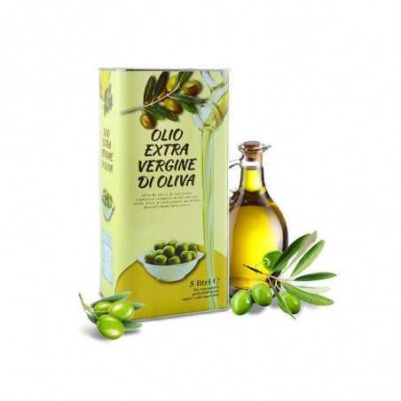 Італійська оливкова олія холодного віджиму, 5л